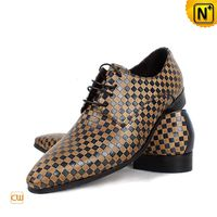 Los Angeles Mens Lace-up Shoes Leather Oxfords CW762080