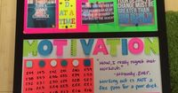 Motivational board