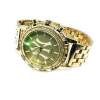 Gold Layered Multi Coloured Dial New York Watch £24.95