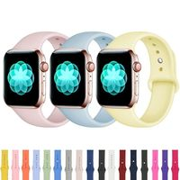 Apple Watch Sport Band 38mm 42mm series 4 3 44mm 40mm Silicone Strap $15.99