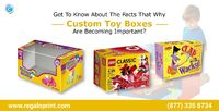 Toy Packaging Boxes by RegaloPrint. #RegaloPrint #packaging #boxes #packagingboxes #toys #toyboxes #toypackagingboxes