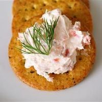 "Smoked Salmon Spread | ""I had some leftover smoked salmon and wash't sure what to do with it until I came across this recipe! We've been eating it with crackers or putting it on top of a bagel in the morning. Excellent recipe, thank you!&quot..."