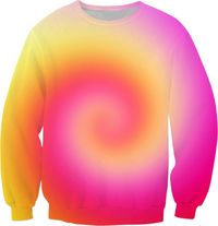 Spiral Of Color Sweatshirt $59.95