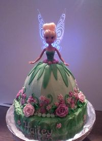 tinkerbell cakes images | Cake Decorating Ideas | Project on Craftsy: Tinkerbell Cake