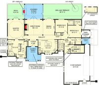 Classic House Plan with In-Law Apartment Option - 12271JL | Architectural Designs - House Plans