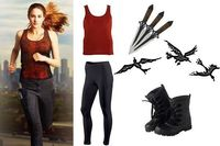 DIY Halloween costumes 2013: YA book characters, fictional heroines from Mortal Instruments, Catching Fire, Vampire Academy, Twilight, Divergent and more.