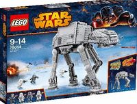 Lego Star Wars AT-AT 75054 Who can stop the Empires intimidating AT-AT - All Terrain Armored Transport - walker? Seat the AT-AT Driver and a Snowtrooper in the cockpit of this mighty war machine and move the head to aim the spr http://www.comparestorepric...