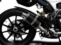 """�™� www.DESMOHEART.com �™� DELKEVIC Ducati Hypermotard 939/821 Slip-on Exhaust DS70 9"""" Carbon �'�229.00"""
