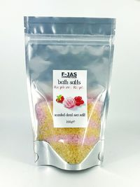 Dead Sea Scented Bath Salts 200g (Raspberry Ripple) £13.90