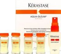 Kerastase Nutritive Aqua-Oleum (Dry and Kerastase Aqua-Oleum provides instant and lasting nutrition for dry to moderately dry hair. This nourishing treatment penetrates the hair fibre thanks to the Nutri-huille technology to leave hair feel http://www...
