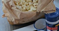 Who doesn't love fresh popcorn? Make movie night more fun with this homemade microwavable popcorn in a bag.