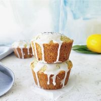 Pucker up for a double shot of lemon with Lemon Poppy Seed Muffins. Packed with crunchy poppy seeds, lemon zest and fresh lemon juice these muffins will make breakfast bright and sunny.