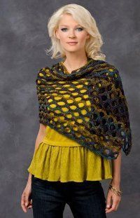 Midnight Magic Shawl: free pattern