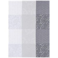 Fleurs de Kyoto Mist Tea Towel Set of 4 by Le Jacquard Francais $100.00