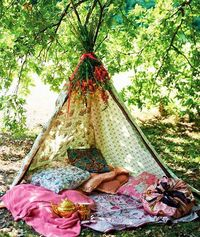 Image from Selina Lake's new book Outdoor Living