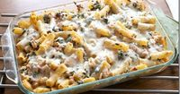 Cheesy Spinach Chicken Bake! remodelaholic.com #freezer meal #family dinner