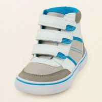 baby boy - shoes - superstar hi-top | Children's Clothing | Kids Clothes | The Children's Place