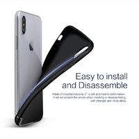 Bakeey Protective Case For iPhone XS Max Slim Micro Matte TPU Cover With Dust Plug Cover