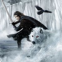 """A Song of Ice and Fire (Game of Thrones) """"Jon Snow"""" by John Picacio"""