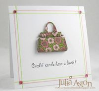 DTGD13 Credit Limit? by artystamper - Cards and Paper Crafts at Splitcoaststampers