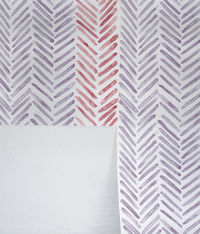 Herringbone Lilac Wallpaper