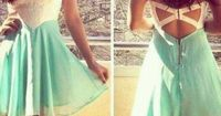 I want this beautiful dress! don't you? <3