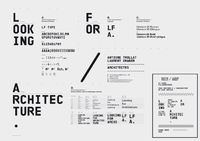 Looking For Architecture - Visual Identity