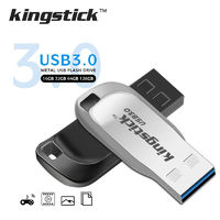 Kingstick XC-USB-KK-33 Mini USB Flash Drive USB 3.0 16GB 32GB 64GB 128GB Metal Flash Memory Card USB Stick Pen Drive U Disk