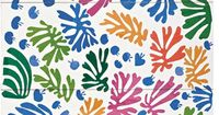Matisse Cut Out. #matisse #cutouts This last art of Matisse's long and productive career shows how even when we're old, we can still create joyful work. So inspirational.