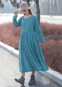 Linen dresses for women, Plus size clothing, Maxi Dresses, Cotton dress, Oversized dress, Pink long sleeve dress