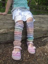 A little girl's first love...one of life's special moments. Lovestruck Leggies from my new crochet e-book for girls. Sizes 4[6, 8, 10].