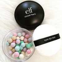 e.l.f. Cosmetics Mineral Pearls: Indulge in a sheer wash of color with illuminating, radiant Mineral Pearls, designed to complement any skin tone. Six multi-colored pearls blend together to mattify skin for a flawless, radiant look. Shop both shades at el...