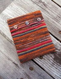 Kindle cover! Quick and easy knitting project. free pattern