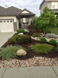 Home landscaping is a matter of concern when designing a house. Landing the building, garden outside or inside, in front or back is also well considered. This i