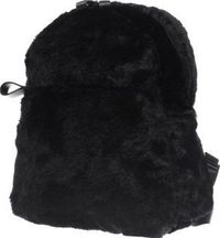 Missguided Black Faux Fur Backpack Bags Missguided kit you out with something Cher Horowitz will seriously envy. Perfect for accessorising any outfit as well as keeping your makeup safe, the Faux Fur backpack arrives in black, featuring zip http://www.com...