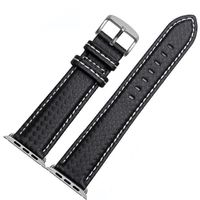 Luxury Carbon Fiber Strap for Apple iwatch series 5 4 3 2 1 44mm 40mm 42mm 38mm $50.99