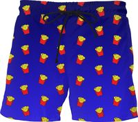 ROMS Fries Dark Blue Ombre Swim Shorts $45.00