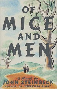Of Mice and Men Author John Steinbeck Publisher Heinemann Publish Date 1937 ISBN 0140177396 Of...