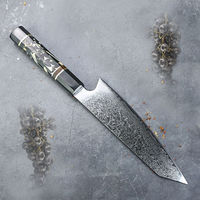 Chef Knife Laminated Stainless Steel Japanese Kitchen Knife Kiritsuke Slicing Home Cooking Tool $76.70