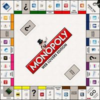 Make Some Design is behind this wonderfully creative Web Lovers Edition of Monopoly, featuring the most prominent companies on the Internet as properties.