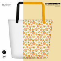 All-Over Print Beach Bag $35.00
