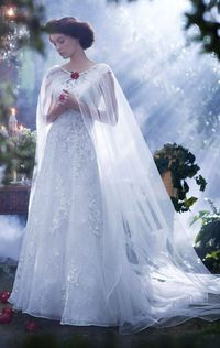 Snow White Bridal Style - by Alfred Angelo Disney Fairy Tale Bridal | Alfred Angelo