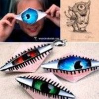 "Do+I+Look+Like+a+CYCLOPE+�€""+Blinking+Origami+Eye"