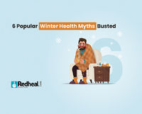 The winter season is the most misunderstood season when it comes to health and rightly so. Check our latest blog article to know the truth about the 6 popular winter health myths.