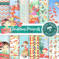Christmas digital paper,christmas printable paper,Christmas digital paper pack,christmas background,Scrapbook paper,Christmas paper $7.00