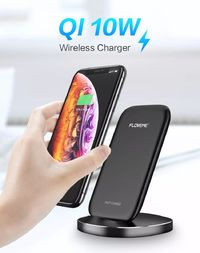 Floveme 10W Qi Fast Charging Phone Holder Wireless Charger For iPhone X XS XR Max Xiaomi Mi8 Mi9 S9 S10 Note