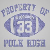 Property Of Polk High Unisex Tank Top $22.99 �œ� Handcrafted in USA! �œ� Support American Artisans