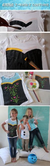 Anna from Frozen: Halloween Costume Tutorial by Brenda Ponnay for Alphamom.com