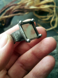 Mirror Square Ring, , Geometric jewelry, boho ring. $25.00