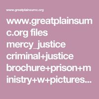 www.greatplainsumc.org files mercy justice criminal+justice brochure+prison+ministry+w+pictures.pdf